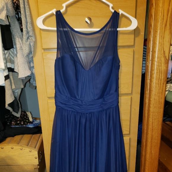 David's Bridal Dresses & Skirts - Size 6 Navy Bridesmaid Dress